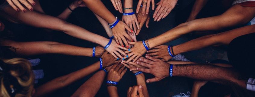 Gegen die Langeweile, alle zusammen, wir schaffen das, perspektiven